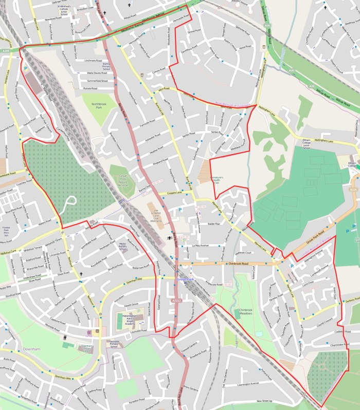 Grove-Park-Neighbourhood-Area-map-June-2014